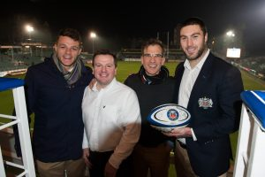 Zach Mercer, Julian Duffill, Richard Mander and Matt Banahan
