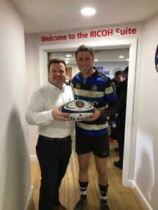 Rhys Priestland and Julian Duffill