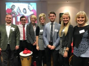 The Mander Duffill Princes Trust team: Chris Willcox, Joe Saunders, Toni Hornbogen, Kimberley Gainey, Callum Morse, Kim Nolan and Keri Chapman