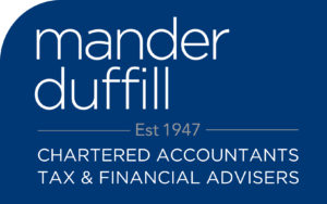 MD final master logos-White on Blue Financial